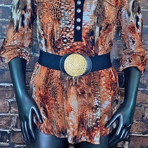 😎Summer Sale Vintage 90's Style Stretch Belt